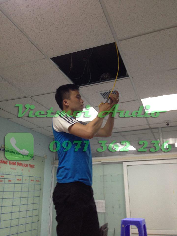 Tinh thần làm việc rất khẩn trương và có trách nhiệm của KTV