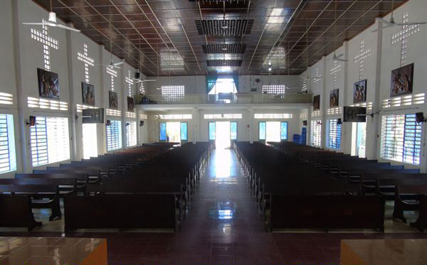 Giải pháp âm thanh tại nhà thờ xã Nhật Quang-Phù cừ'-Hưng Yên