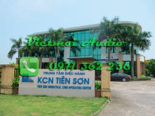 VM audio lắp đặt âm thanh phòng họp tại KCN Tiên Sơn