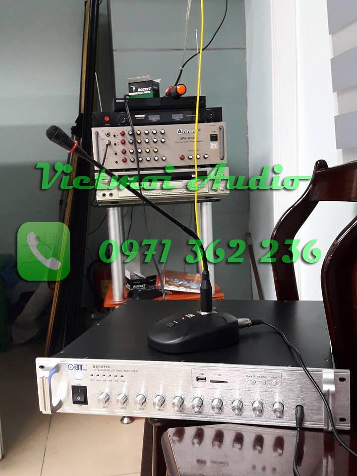 Amply OBT và micro cổ ngỗng OBT 8052A