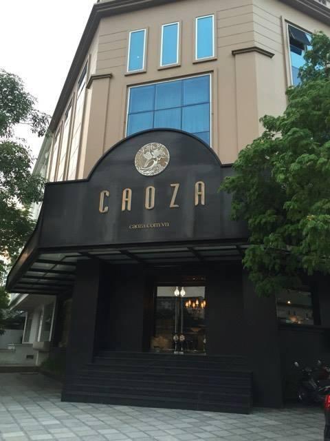 Dự án âm thanh tại showroom CAOZA