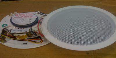 Thiết kế và cấu tạo đặc biệt của loa âm trần TOA PC 658 và 648R