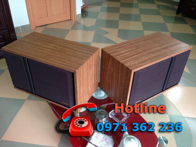 Thiết kế với vỏ gỗ sang trọng, hiện đại