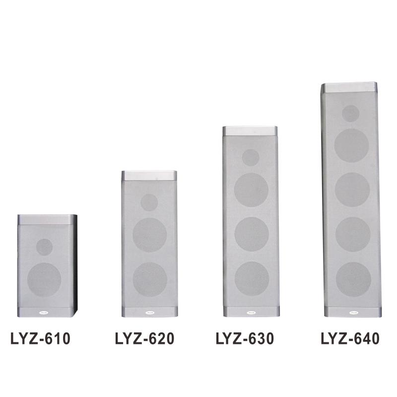 Dòng loa cột LYZ chất lượng cao, thiết kế đẹp mắt
