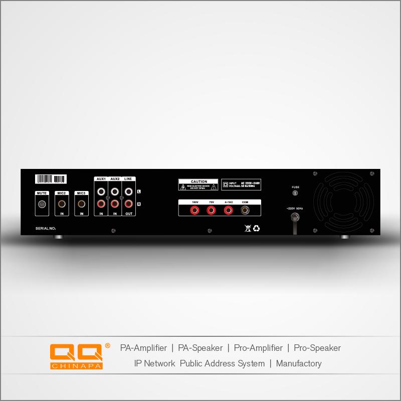 Amply QQPA LPA 480F chất lượng hàng đầu – mặt sau SP