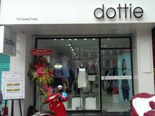 Dự án lắp đặt âm thanh tại cửa hàng quần áo Dottie