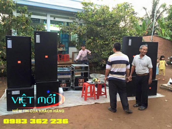 Dự án âm thanh tại chung cư nhà anh Tùng