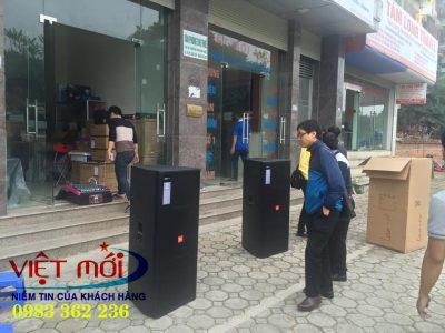 dự án âm thanh đám cưới cho khách hàng Sơn La