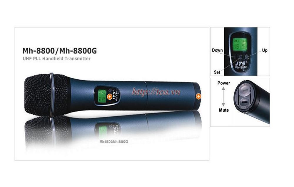 Micro không dây UHF JTS MH-8800