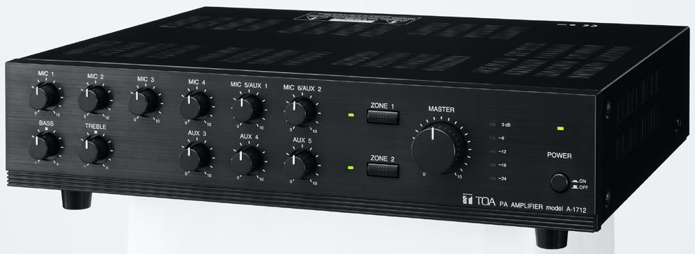 Amply Mixer TOA A1712