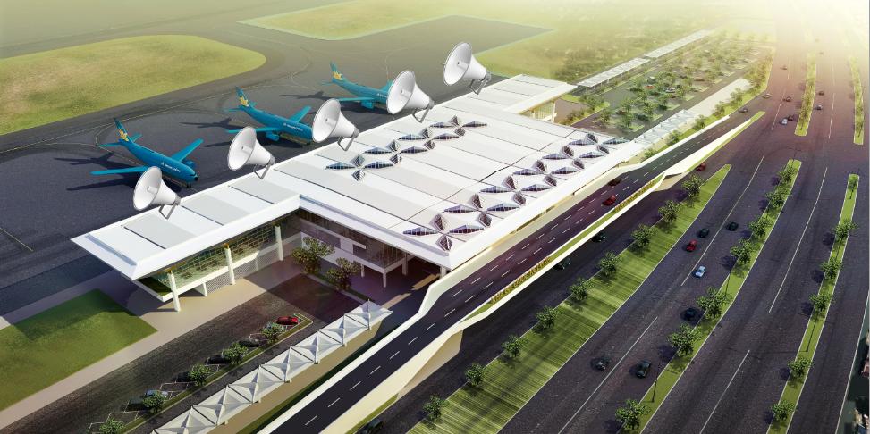 Giải pháp âm thanh sân bay