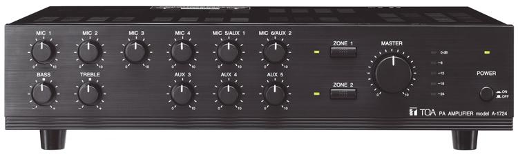 Amply Mixer TOA A-1724