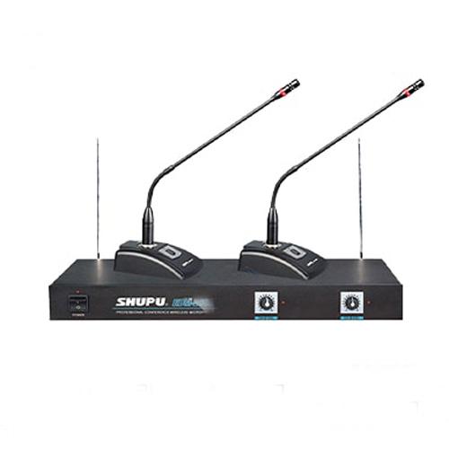 Micro cổ ngỗng không dây 2 mic SHUPU EDM-2000