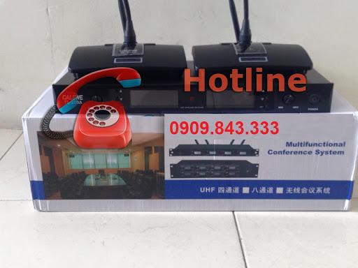 Micro cổ ngỗng không dây CALSWE TL-200A 2 mic