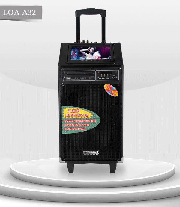 Loa kéo karaoke có màn hình A32s chất lượng cao.