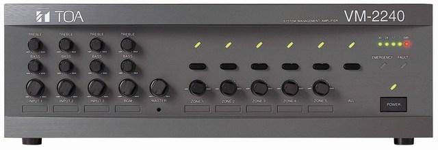 Đặc điểm nổi bật của chiếc amply TOA VM 2240