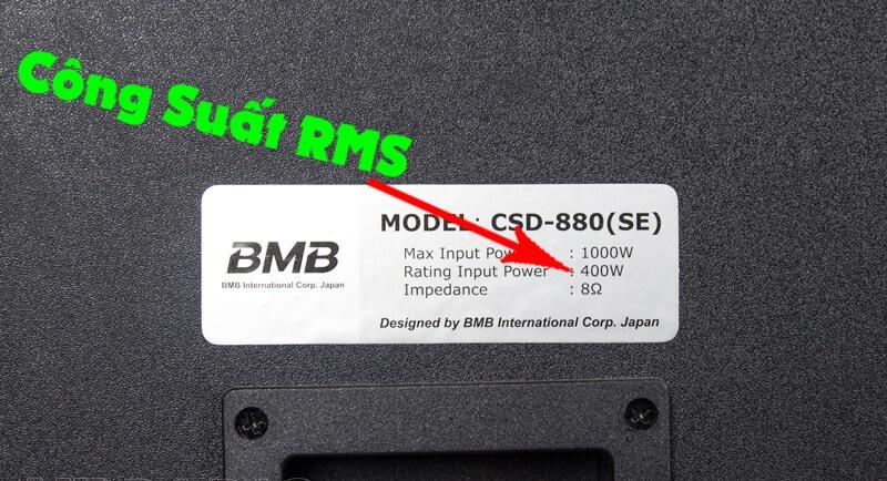 Công suất RMS là gì? Cách kết nối dựa trên công suất RMS