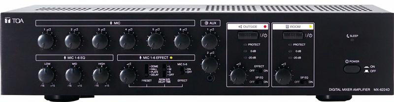 Amply liền Mixer TOA MX-6224D
