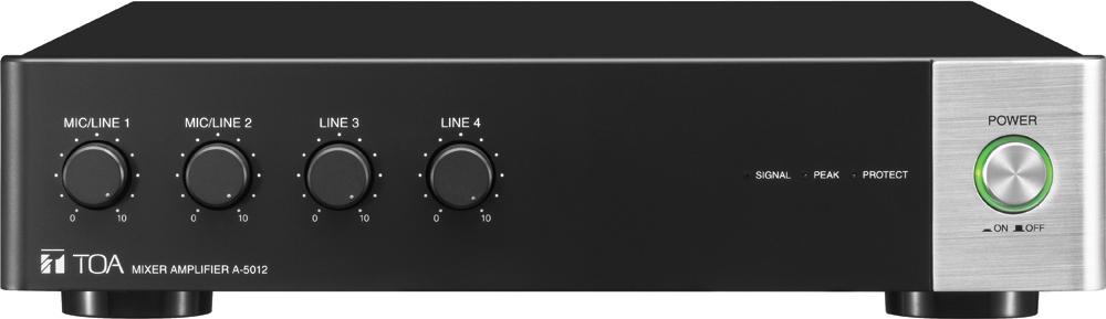 Tăng âm liền Mixer TOA A-5012