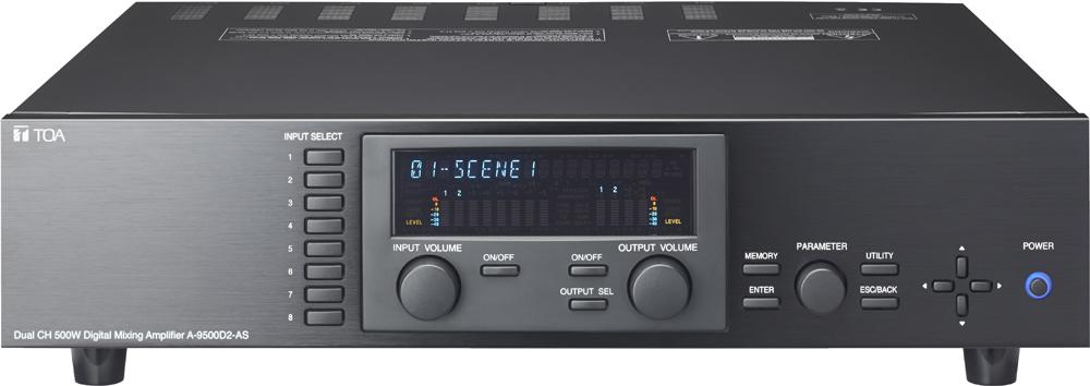 Tăng âm liền Mixer đa kênh TOA A-9500D2