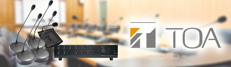 Hệ thống TOA - giải pháp âm thanh hàng đầu