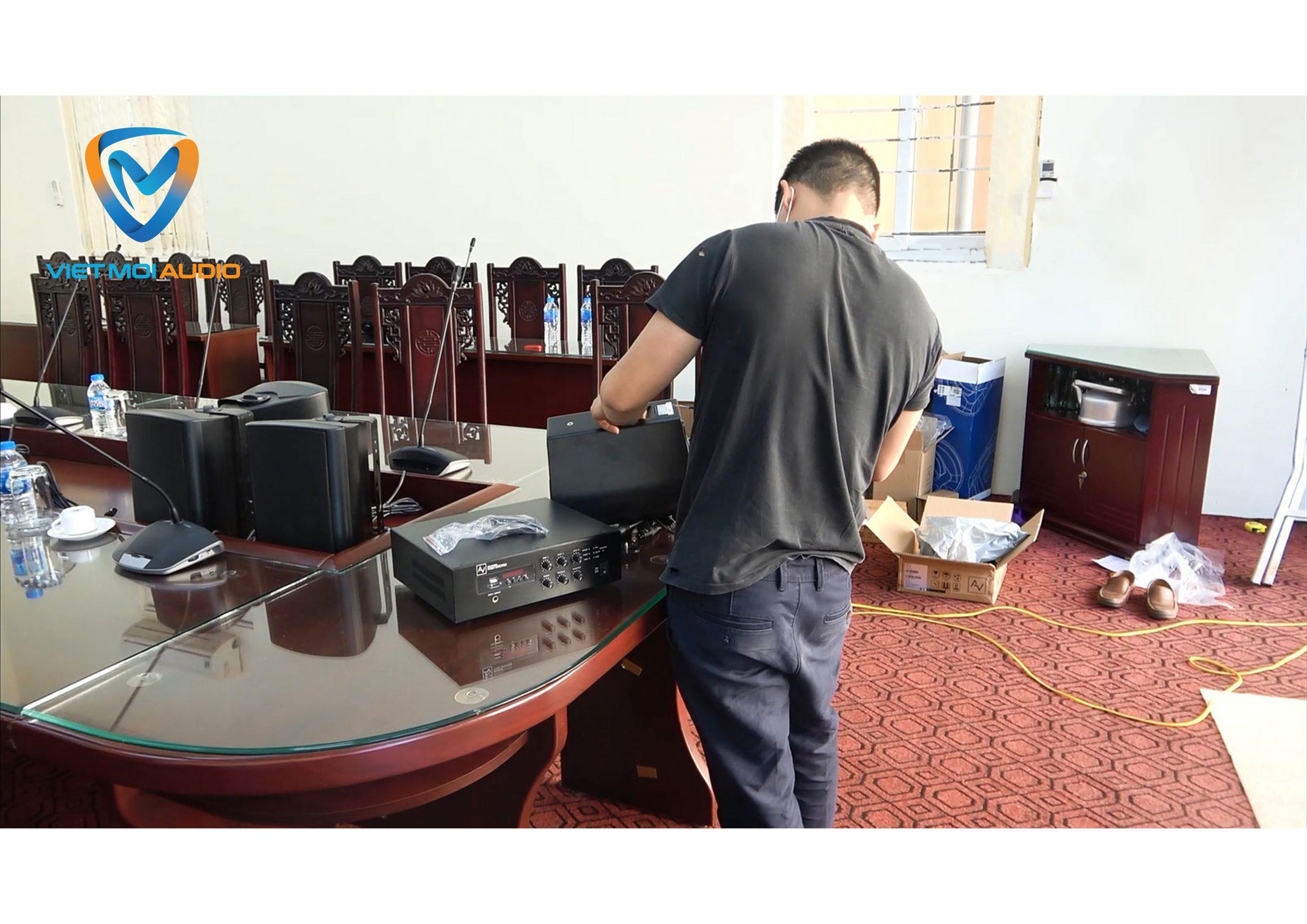 Dự án âm thanh phòng họp Bệnh viện Bạch Mai